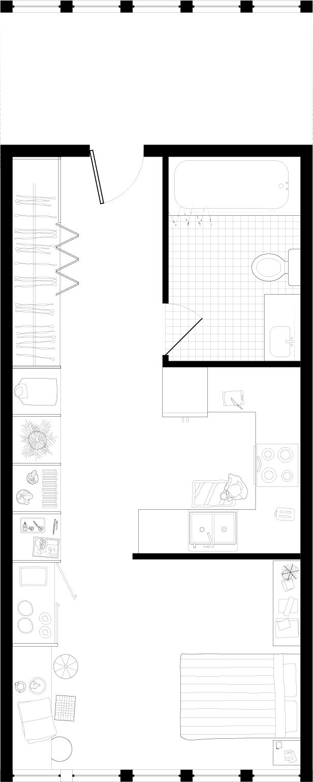 LIVE/WORK — One Bedroom