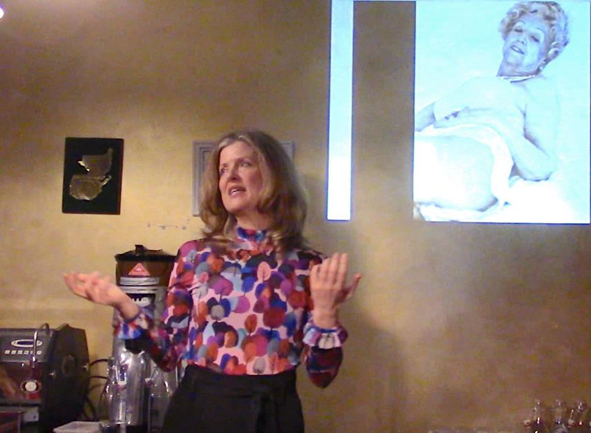 Talking about the Power of the Gaze at the LitWings Salon in Paris April 2019