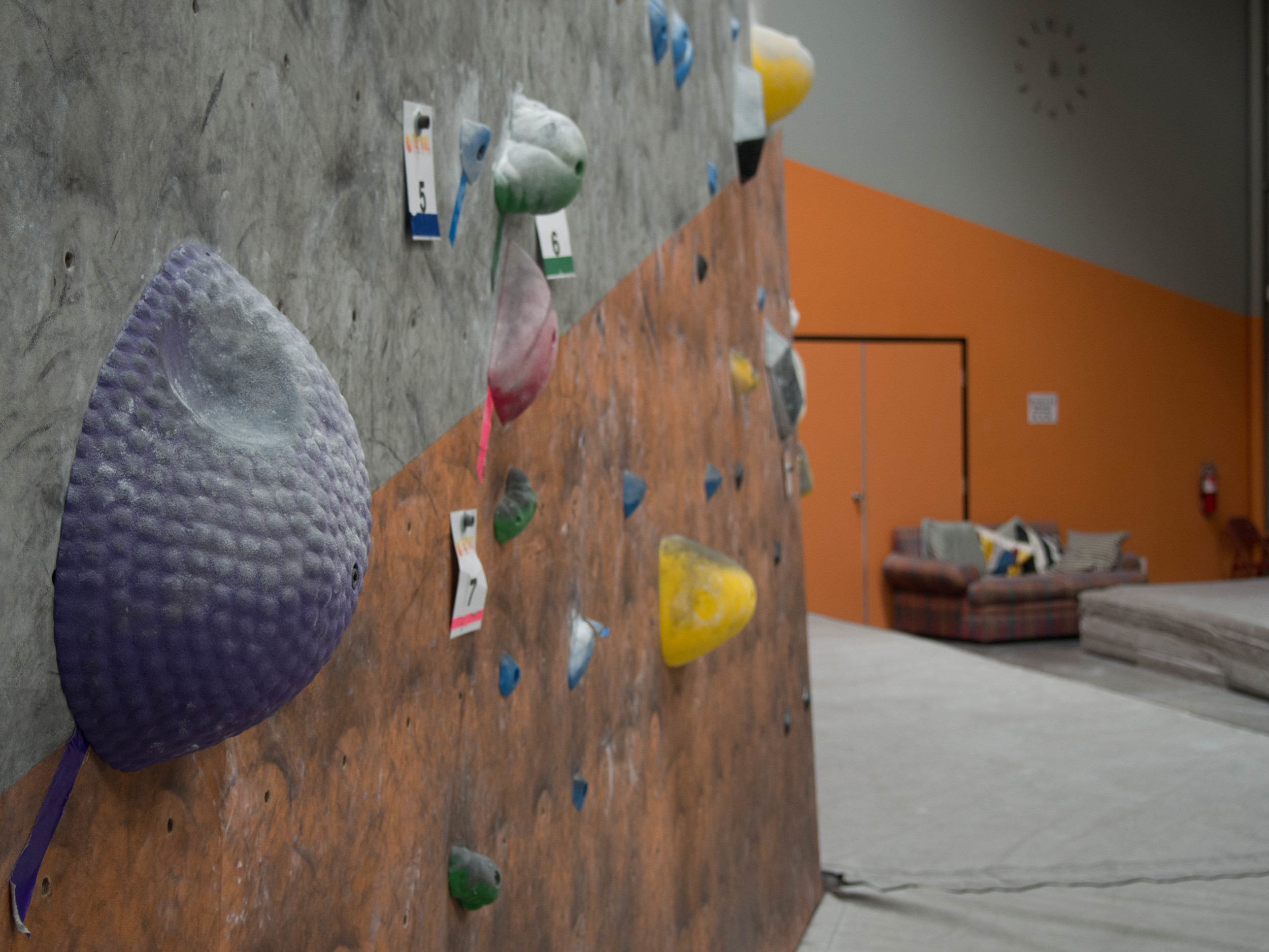 Rock Climbing Gym Vista