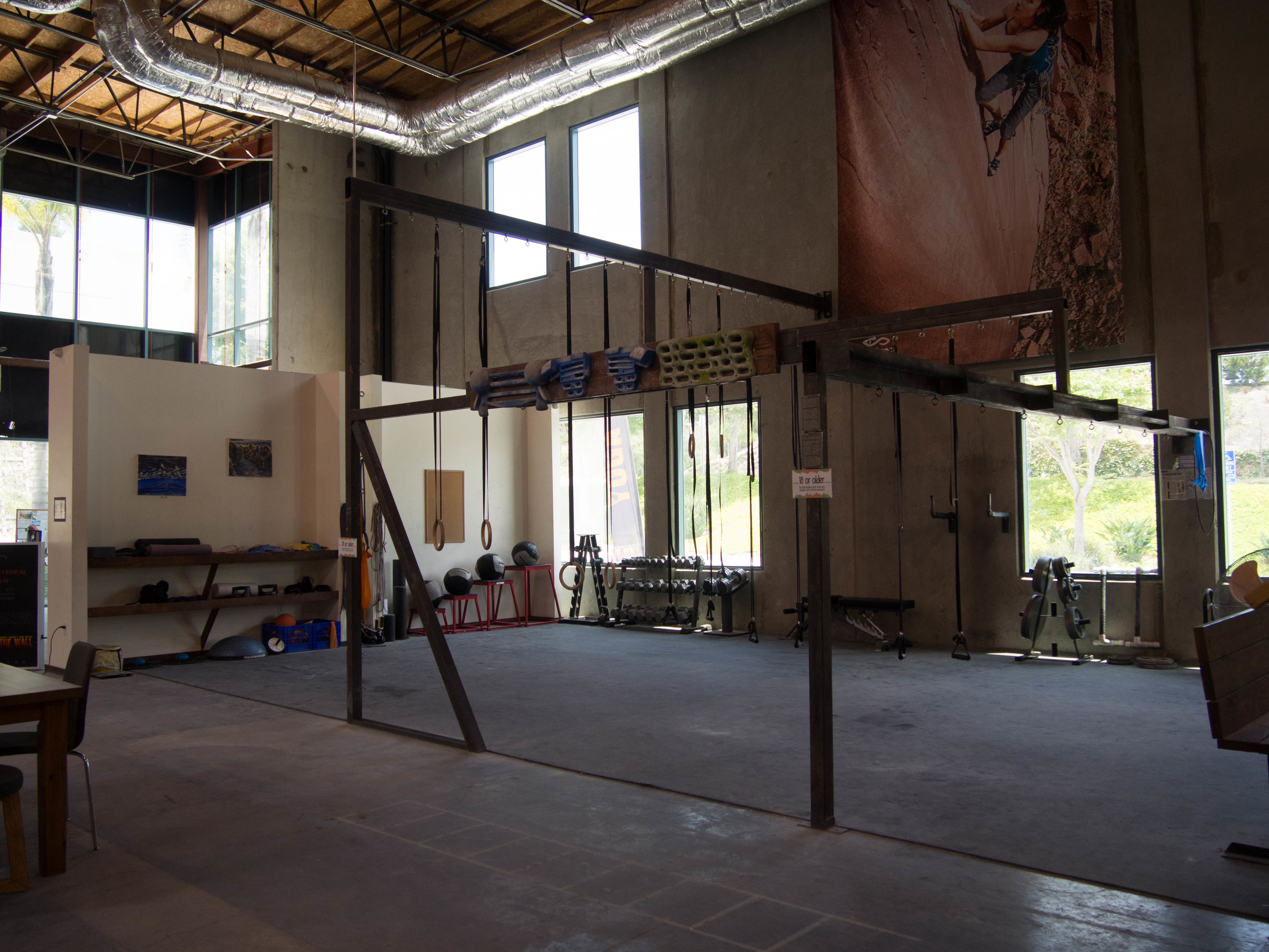 Indoor Rock Climbing Gym In San Diego