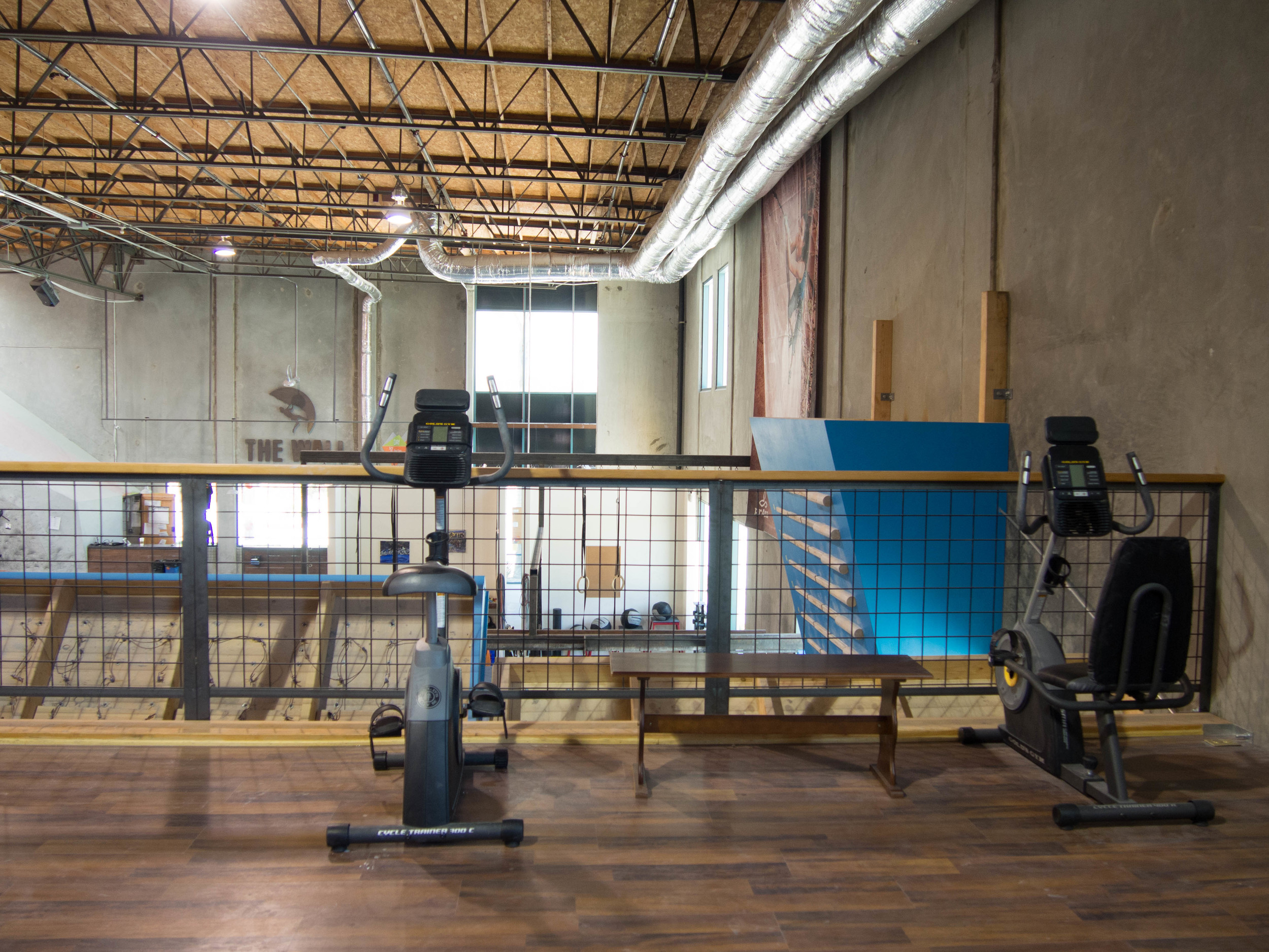 Fitness and Yoga at The Wall Climbing Gym
