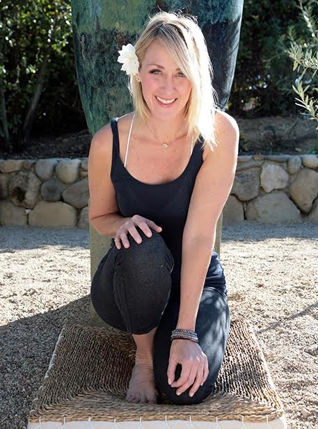 """Kitty Blincoe   Kitty is a Soul Whisperer, highly credentialed Yogini and cancer survivor. An AromaReiki Master, motivational speaker and bi-coastal yoga teacher trainer based in Carlsbad, CA, Kitty specializes in therapeutic yoga & meditation for managing stress, insomnia, cancer and chronic disease. An ex-Fashion Exec, after many """"mental moments"""" on and off the mat, yoga continues to transform her from a Type A Personality to a """"Recovering"""" Type A Personality. Inspired by witnessing not only her own, but also so many client's life transformations from practicing, Kitty opened Sanctuary Z - a Sleep, Stretch & Stress Management space and North San Diego's premiere place to meditate in 2016. YOGA is about more than touching your toes! Whether a heart centered, sweaty, fun vinyasa flow (she was voted teacher most likely to have students want to go out and get a drink with after class in her first training) or a luxurious, slow restorative class - her philosophy is: """"Let Your Practice be Your Sanctuary & Come Smile with Me"""" www.kittyblincoe.com - www.sanctuaryz.com"""