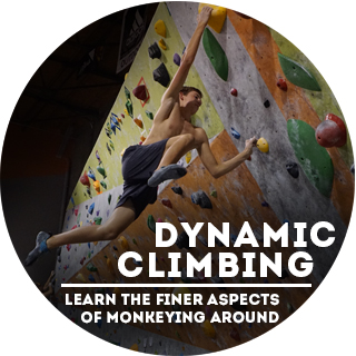 Dynamic Climbing Clinic - The Wall Climbing Gym