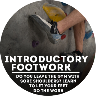 Footwork Clinic - The Wall Climbing Gym