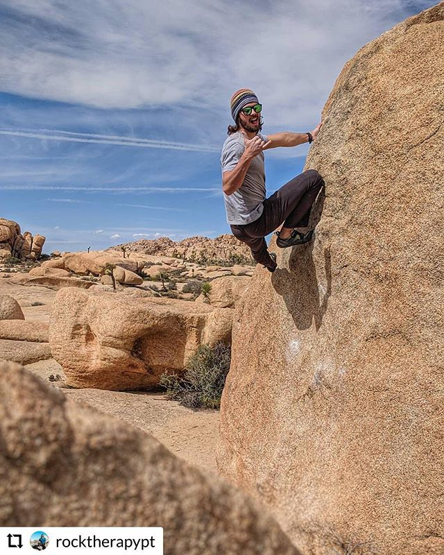 @rocktherapypt getting us way too excited for the weekend on a Thursday. Who's going outside this week? Where are you headed? ☀️ #climbing #climbing_lovers #climbingtraining #climbingworldwide #climbingrocks #sandiegoclimbing #climbingtrip