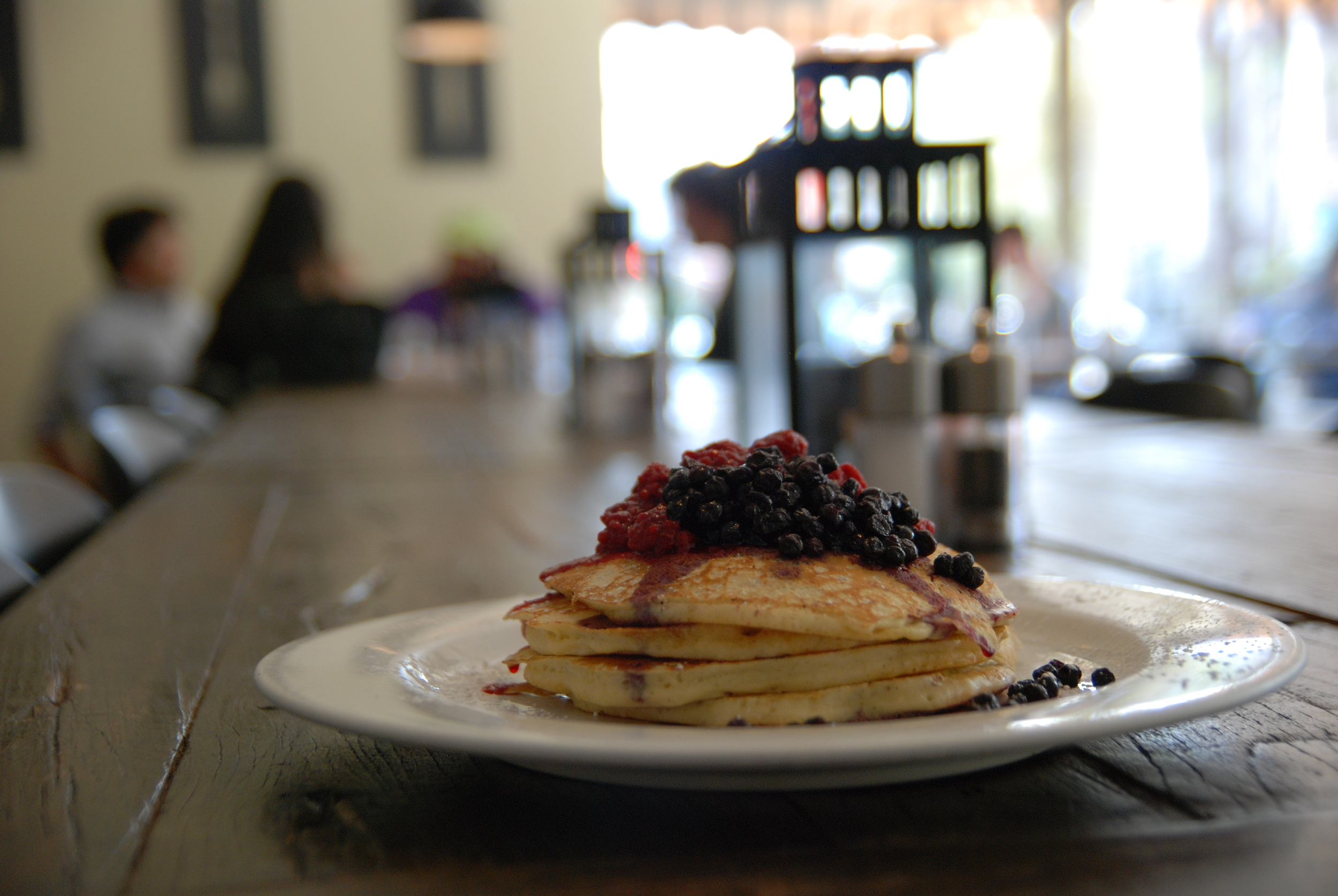 Berry Mix Pancakes