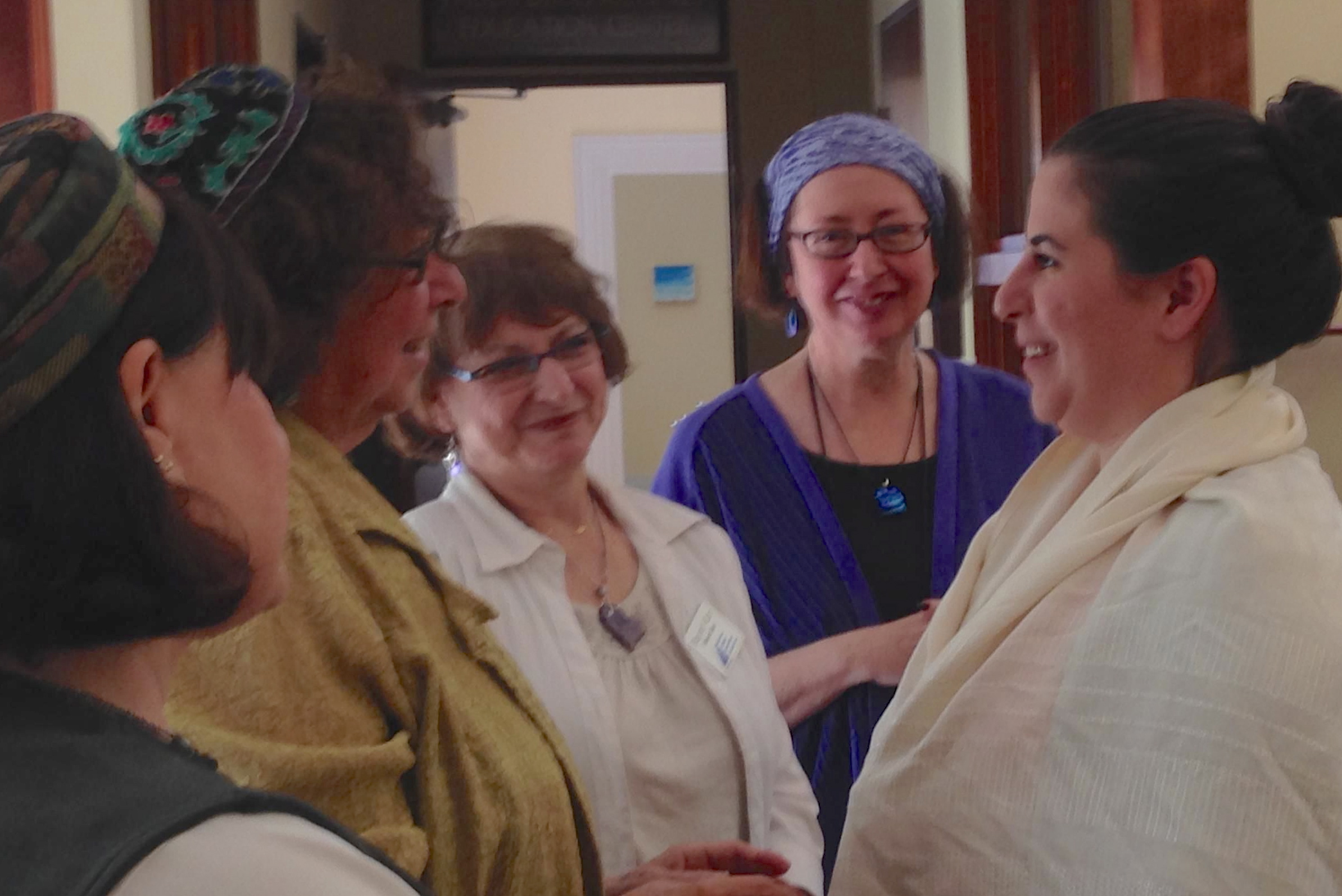 The Beit Din welcomes a new member into the Jewish community