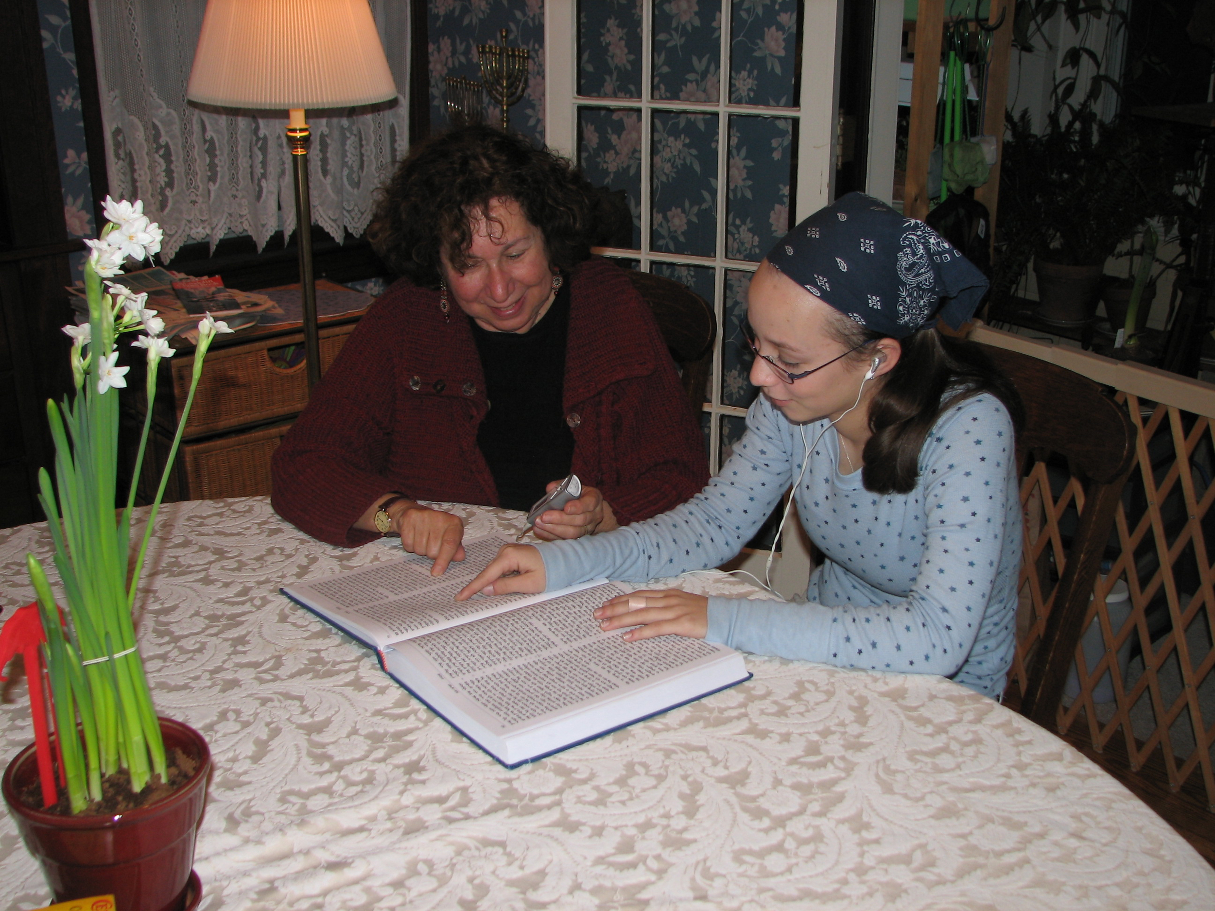 Learning to Chant Torah