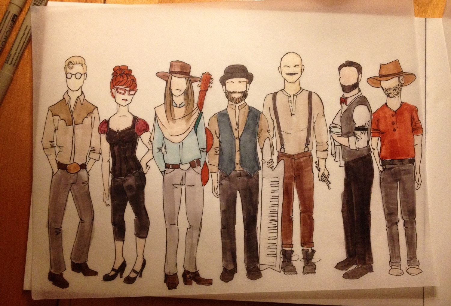 ghost town gang by Lauren McCune