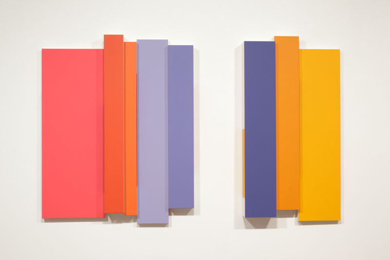 Needles, 2013,acrylic on canvas, 45 x 72 inches: 114.3 x 182.9 centimeters