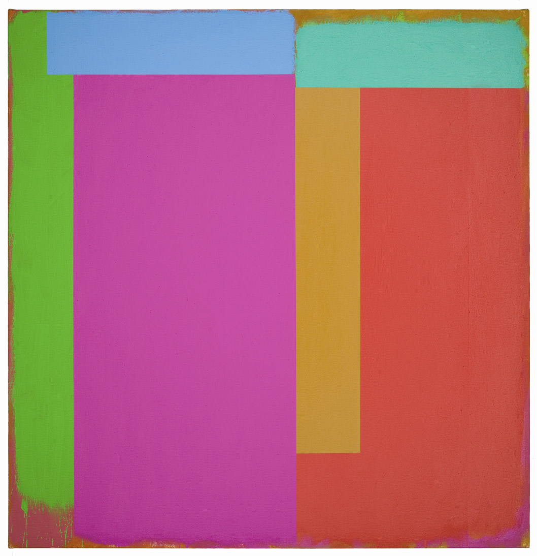Marker/California , 1986, acrylic on canvas, 60 x 62 inches; 152.4 x 157.5 centimeters