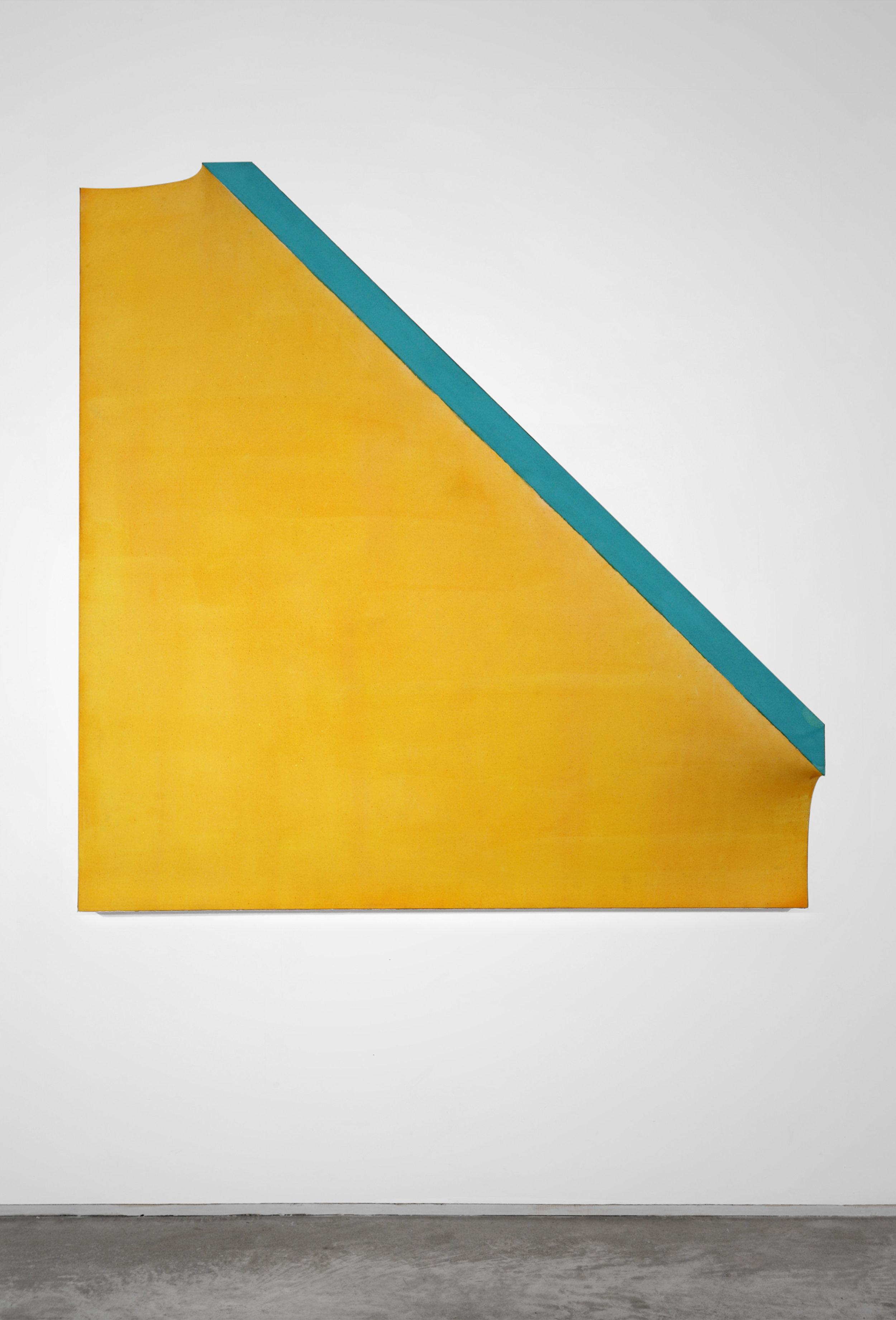 Richard Smith (1931–2016),   A Whole Year a half a day XI , 1966, acrylic on canvas, 48 x 48 x 12 in. (121.9 x 121.9 x 30.5 cm)