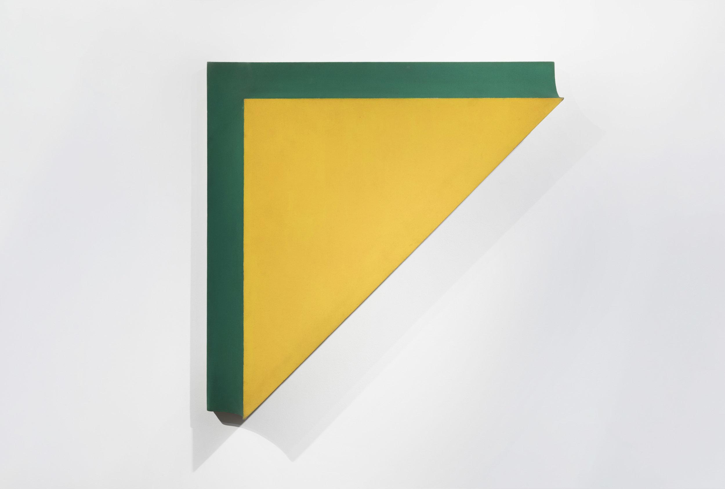 Richard Smith (1931–2016)   Kodak 3 , 1966 acrylic on canvas  48 1/4 x 48 1/4 x 8 in. (122.6 x 122.6 x 20.3 cm) LSFA# 14074