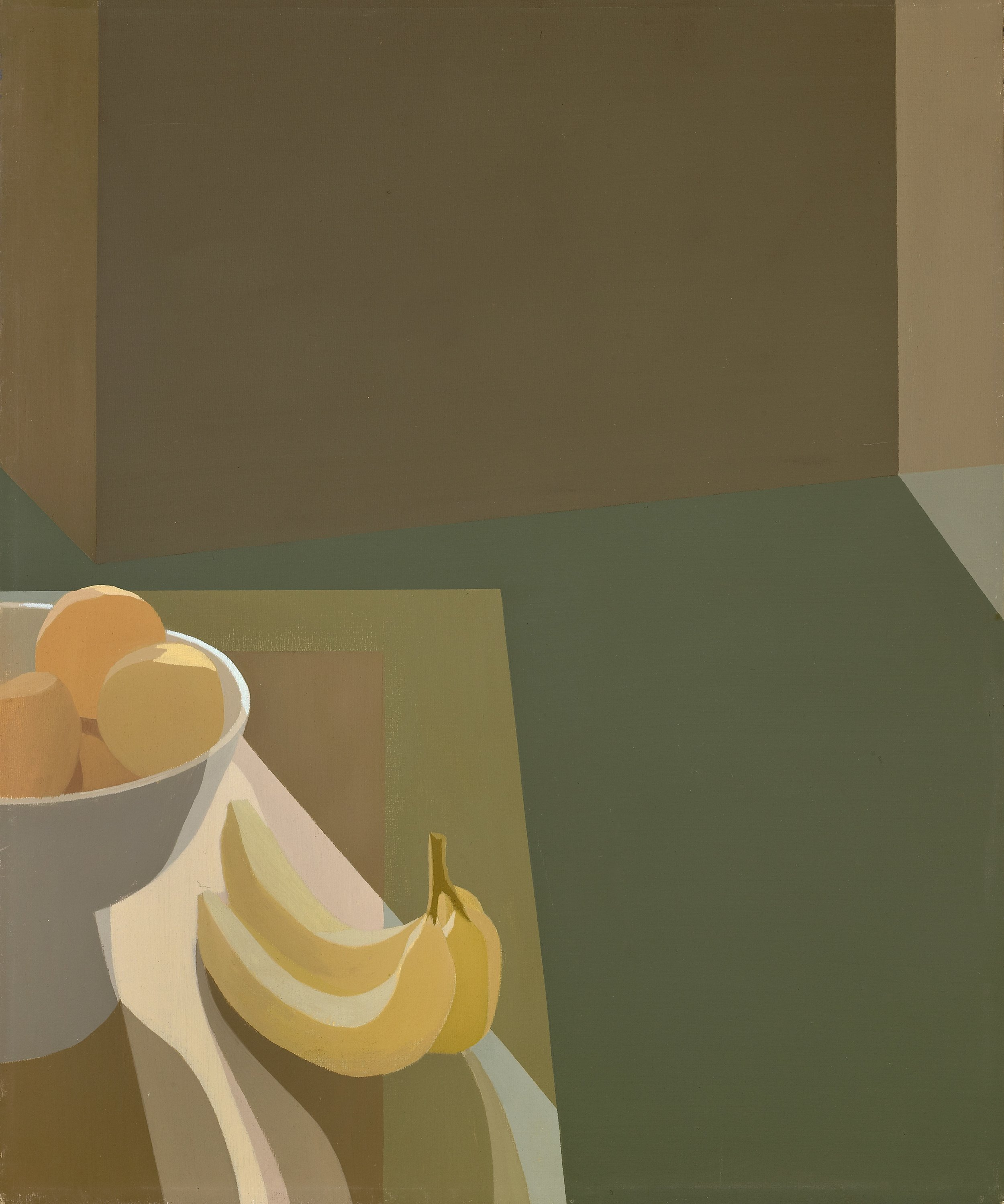 Helen Lundeberg (1908-1999)   Still Life , 1962  oil on canvas 24 x 20 inches; 61 x 50.8 centimeters