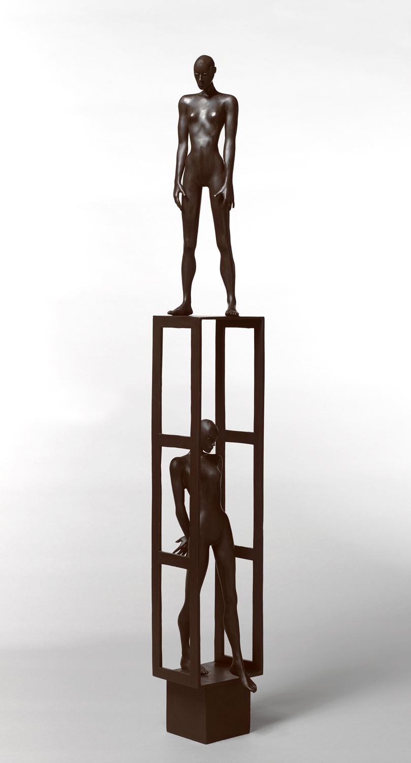 Estructura 2 , 2019 bronze 38 x 5 1/2 x 5 1/2 inches; 96.5 x 14 x 14 centimeters
