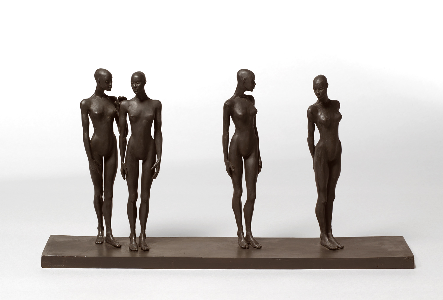 The Comment , 2019 bronze 11 1/2 x 21 3/4 x 4 inches; 29.2 x 55.2 x 10.2 centimeters