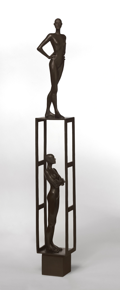 Estructura 3 , 2019  bronze 38 x 5 1/2 x 5 inches; 96.5 x 14 x 12.7 centimeters  $18,000