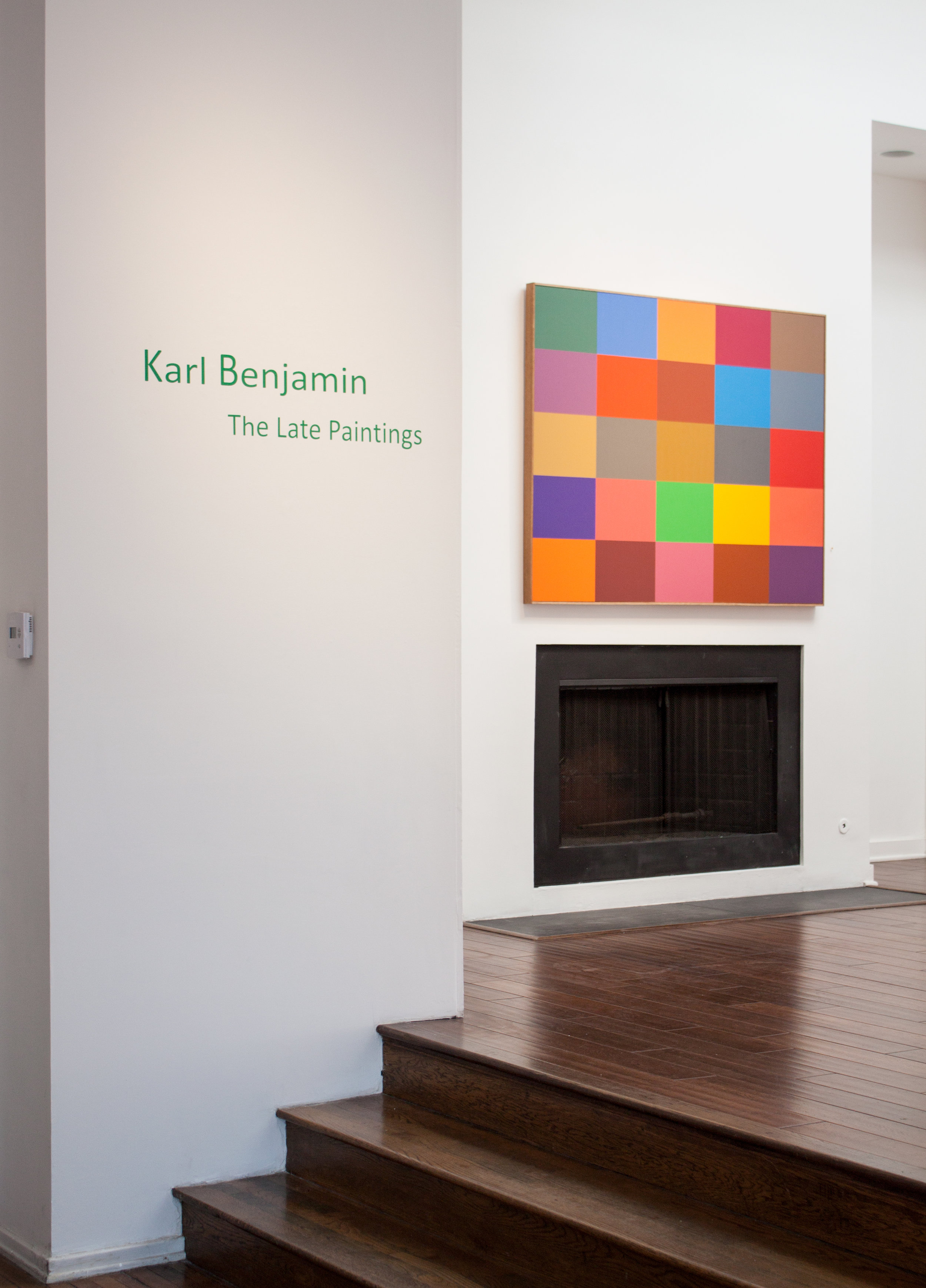 Karl Benjamin: the Late Paintings