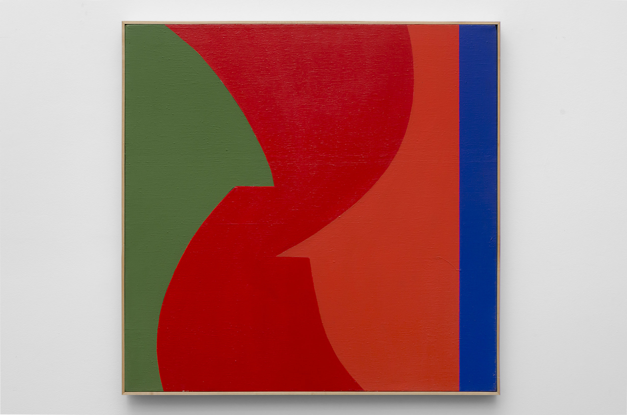 Untitled (D) , c. 1967 acrylic on canvas 30 x 30 inches; 76.2 x 76.2 centimeters  $14,000