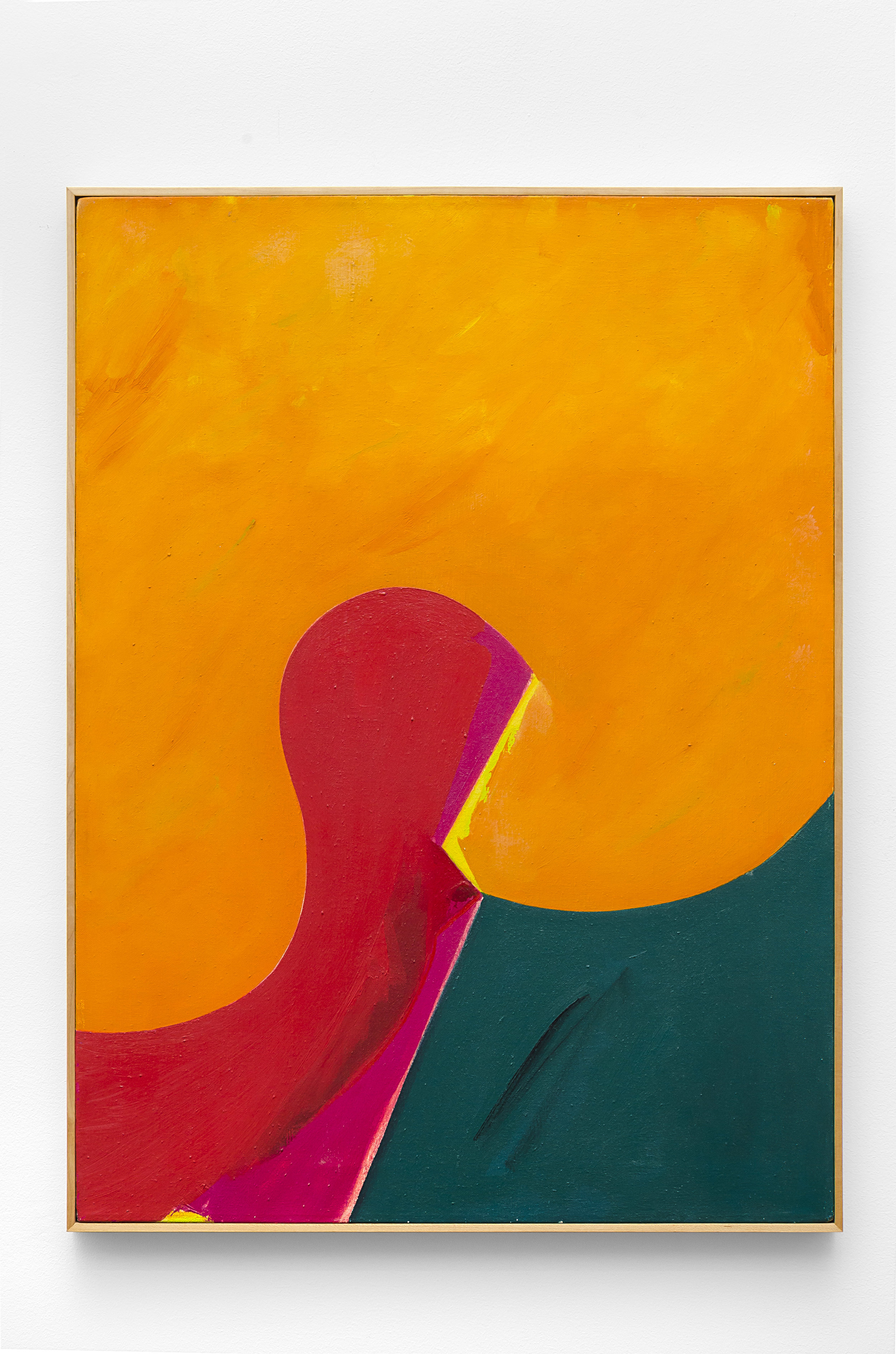 Nov #2 , 1968  acrylic on canvas 30 1/2 x 22 1/2 inches; 77.5 x 57.2 centimeters  $14,000