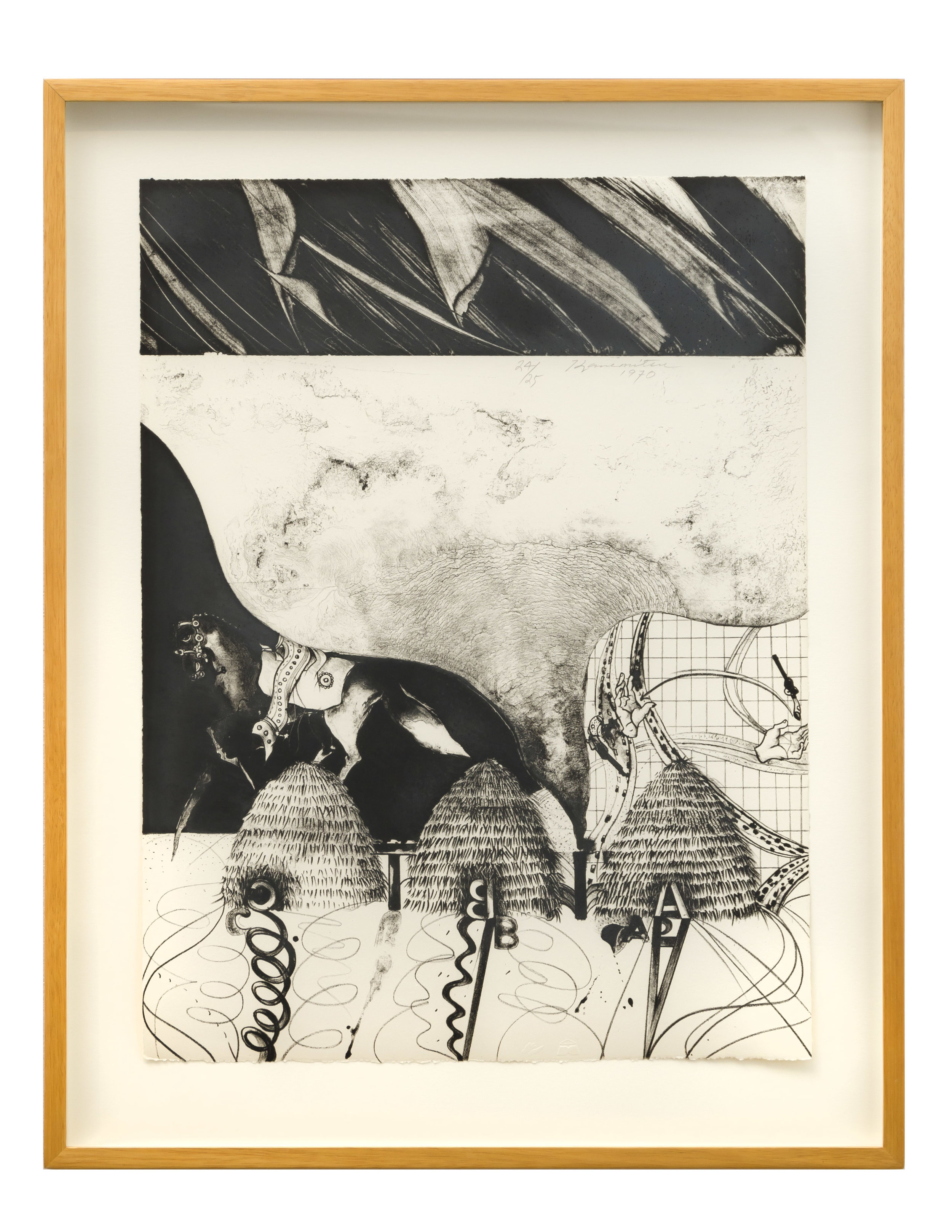 Metamorphosis L.A. II , 1970 Ed. 24/25  lithograph 20 x 15 inches; 50.8 x 38.1 centimeters  $1,200