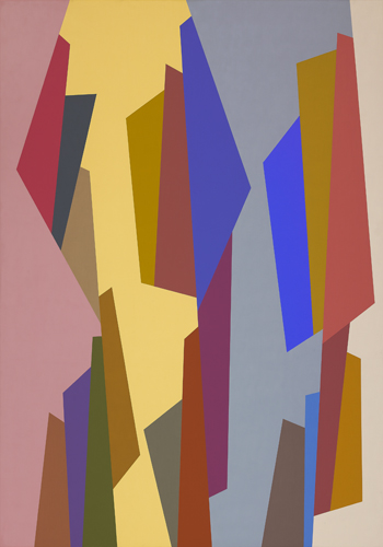 #7 , 1988 oil on canvas 63 x 45 inches; 160 x 114.3 centimeters