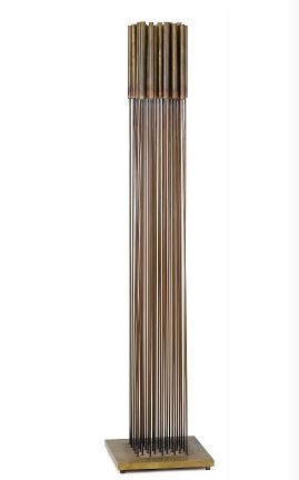 Tonal Sculpture , circa 1970  beryllium copper  34 x 8 x 8 inches; 86.4 x 20.3 x 20.3 centimeters