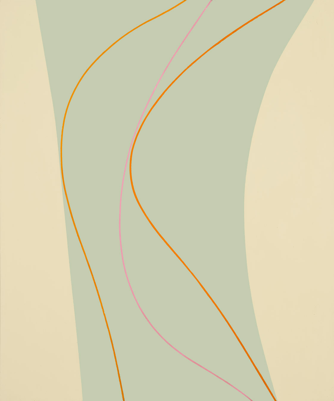 Untitled (September 4) , 1964 oil and enamel on canvas 60 x 50 inches; 152.4 x 127 centimeters