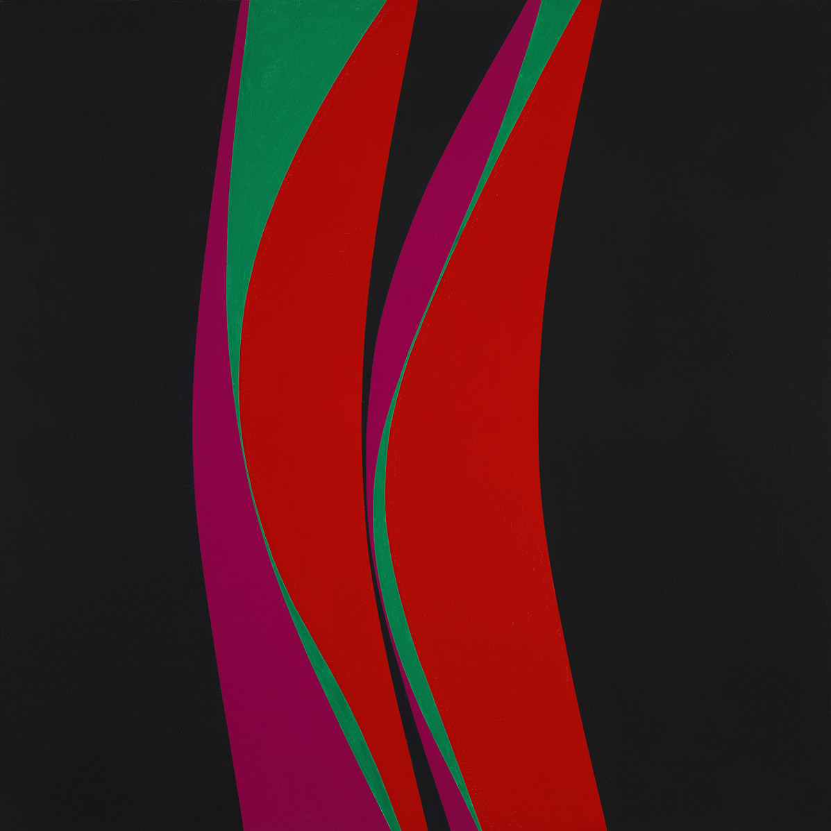 Untitled (February 4) , 1967 oil on canvas 60 x 60 inches; 152.4 x 152.4 centimeters
