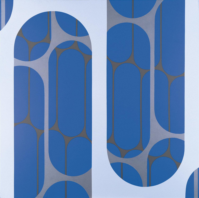 Arcanum #7 , 1970 acrylic on canvas  60 x 60 inches; 152.4 x 152.4 centimeters