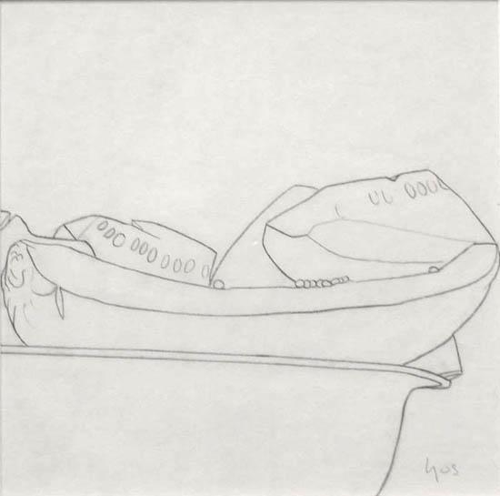 Still Life VI , 1996 pencil on paper 10 x 9 3/4 inches; 25.4 x 24.8 centimeters