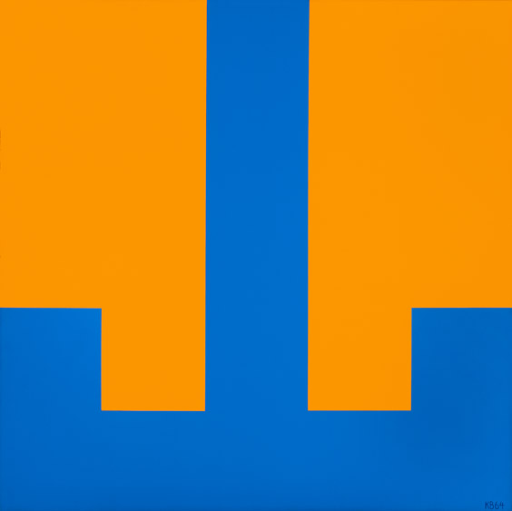 #39 , 1964  oil on canvas 42 x 42 inches; 106.7 x 106.7 centimeters