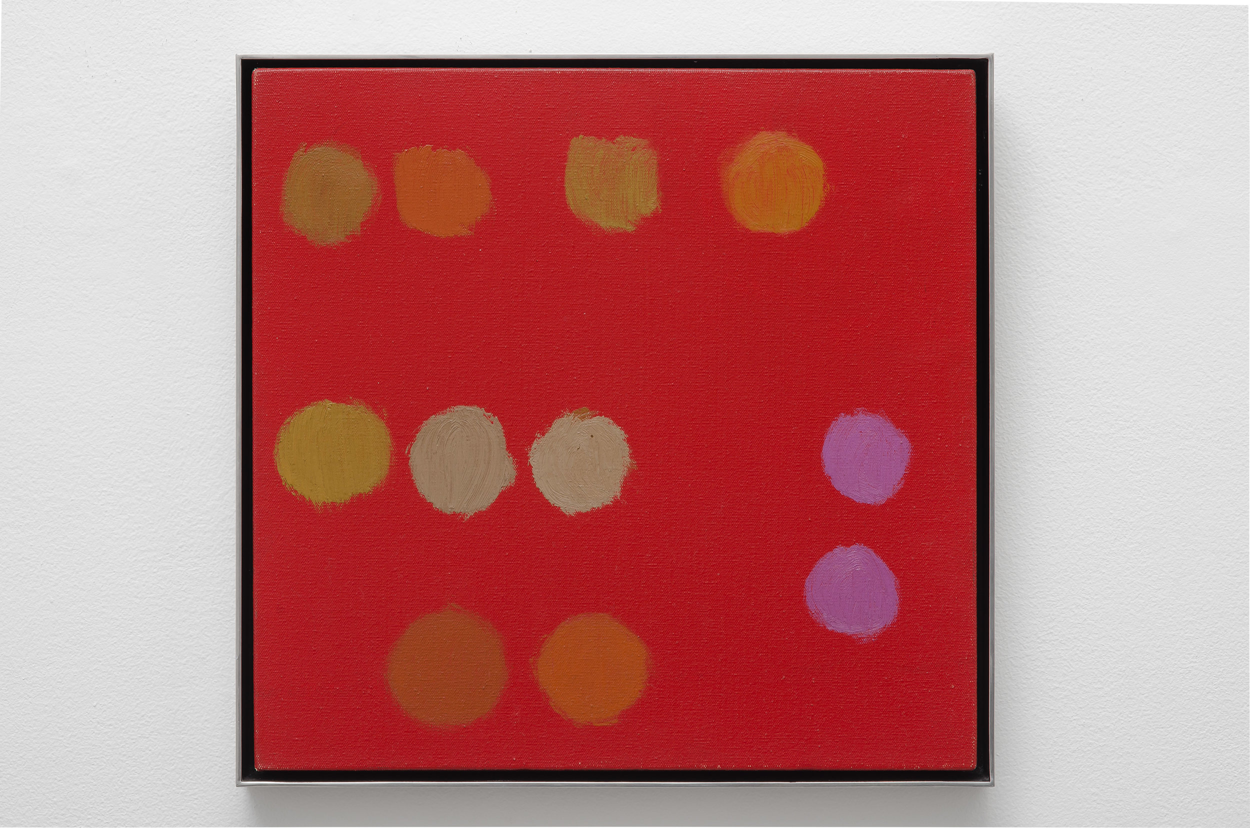 Untitled, 1969  oil on canvas 15 x 15 inches; 38.1 x 38.1 centimeters