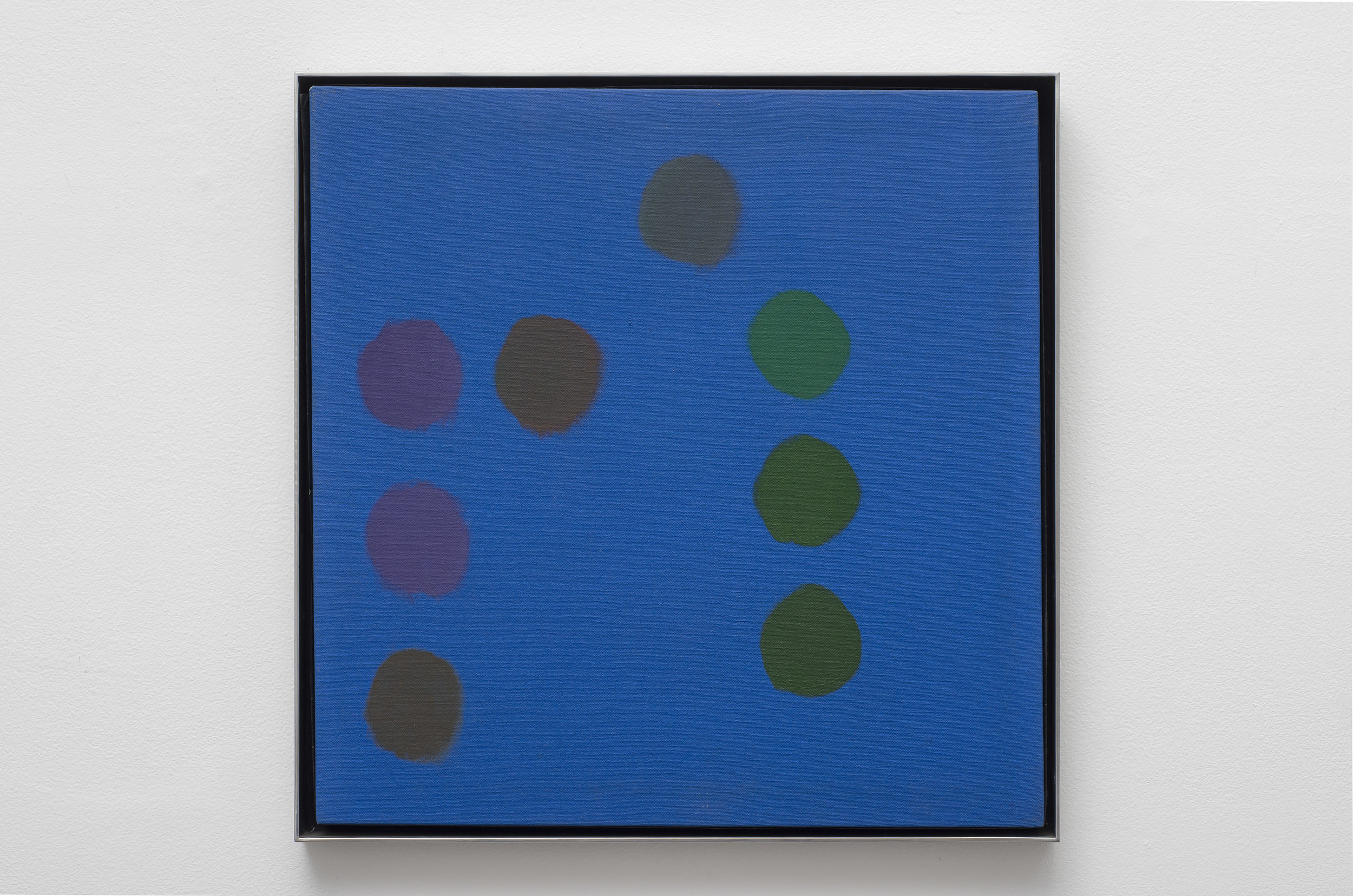 Untitled, c. 1969  oil on canvas 18 x 18 inches; 46.3 x 45.7 centimeters