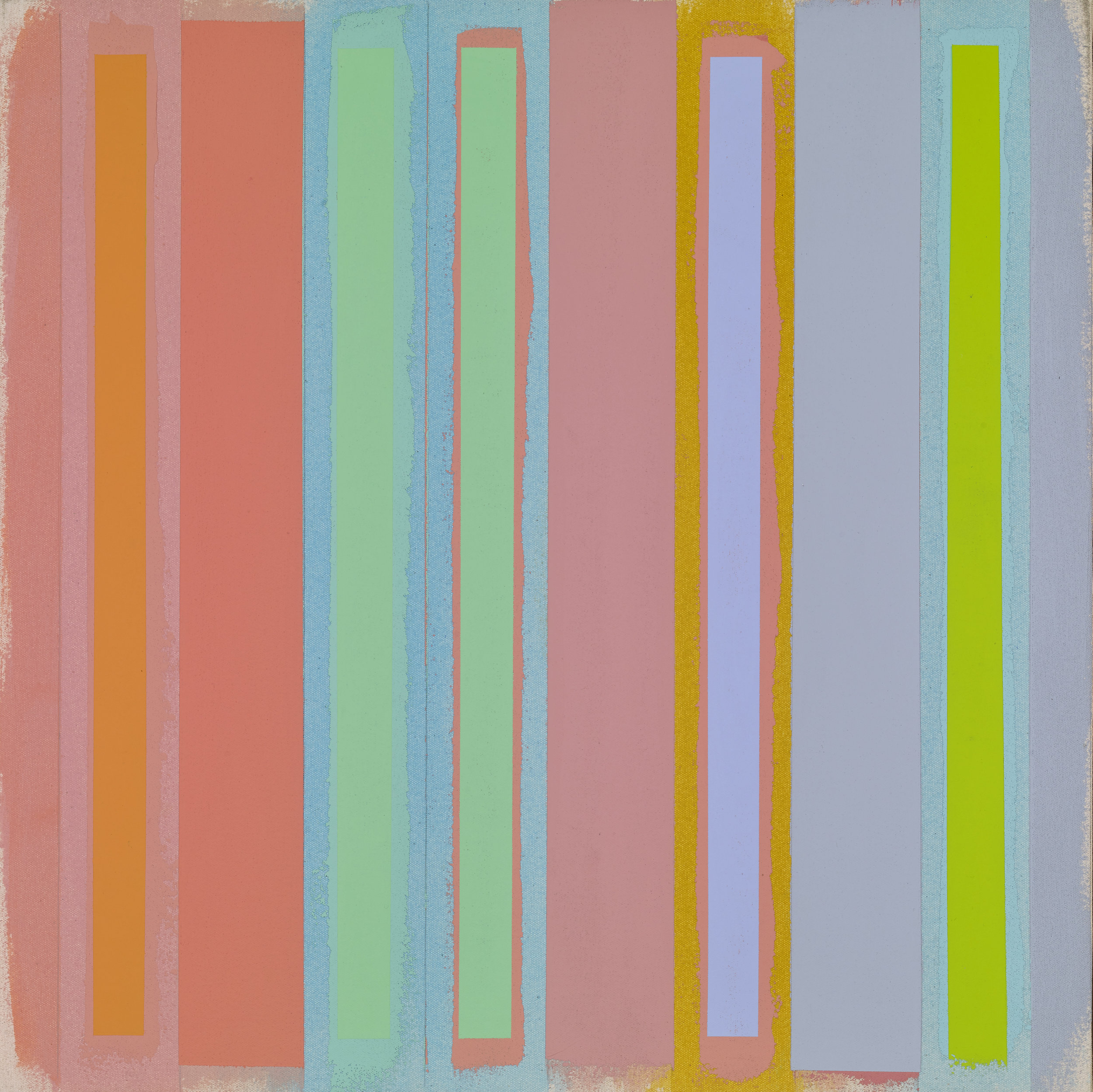 Untitled, 2003  acrylic and oil on canvas 17 3/4 x 17 1/2 inches; 45.1 x 44.5 centimeters
