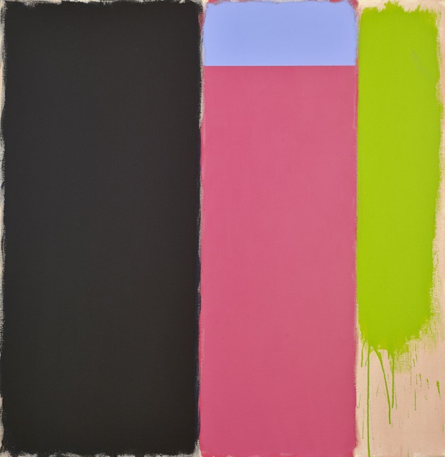 Lady X, 1985  acrylic on canvas 62 1/4 x 60 inches; 158.1 x 152.4 centimeters