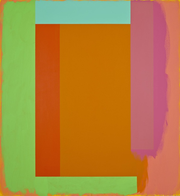 Whisperer, 1987  acrylic on canvas 65 x 60 inches; 165.1 x 152.4 centimeters