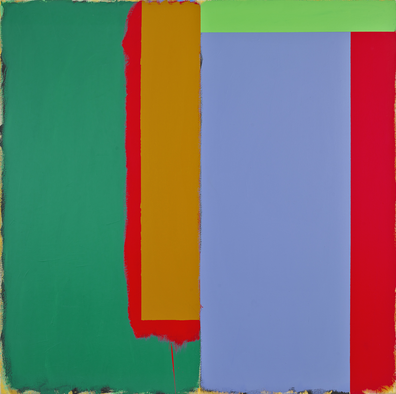 Marker/Dune, 1986  acrylic on canvas 60 1/8 x 60 1/8 inches; 152.7 x 152.7 centimeters