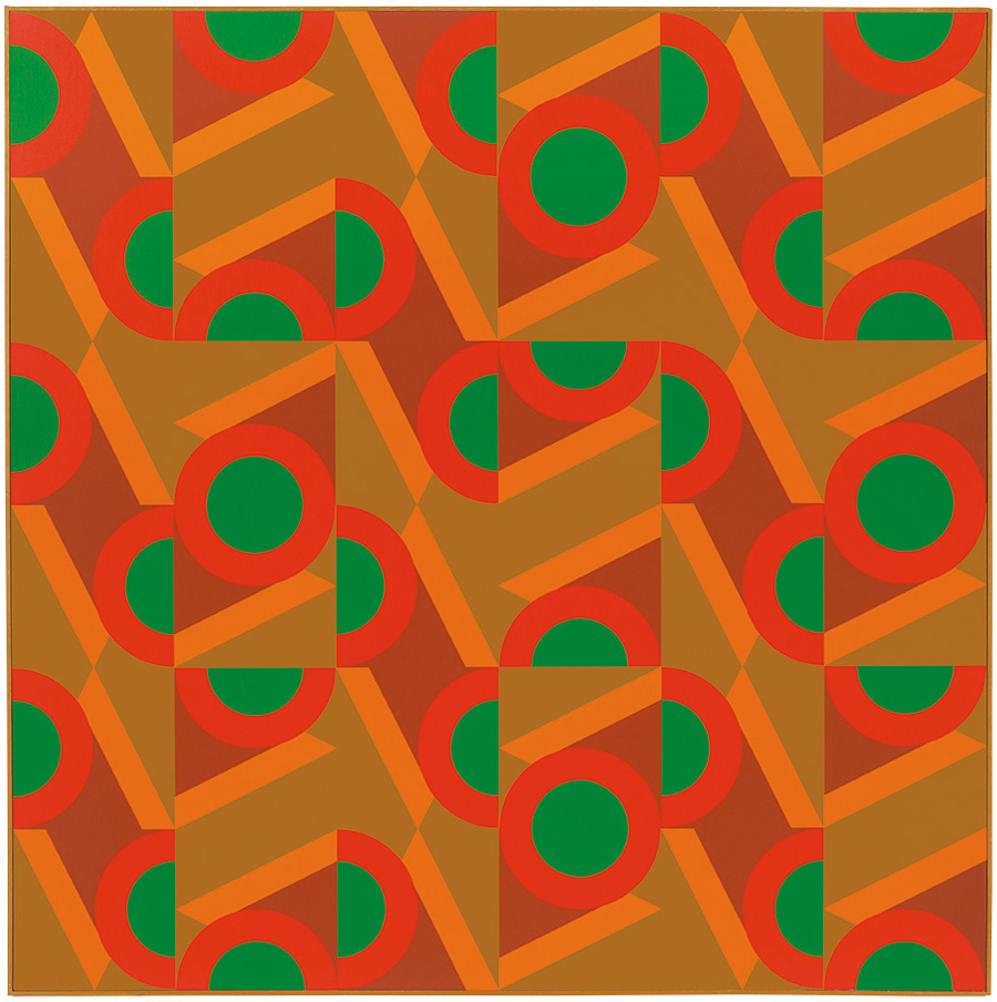 #19 , 1983  oil on canvas 60 x 60 inches; 152.4 x 152.4 centimeters