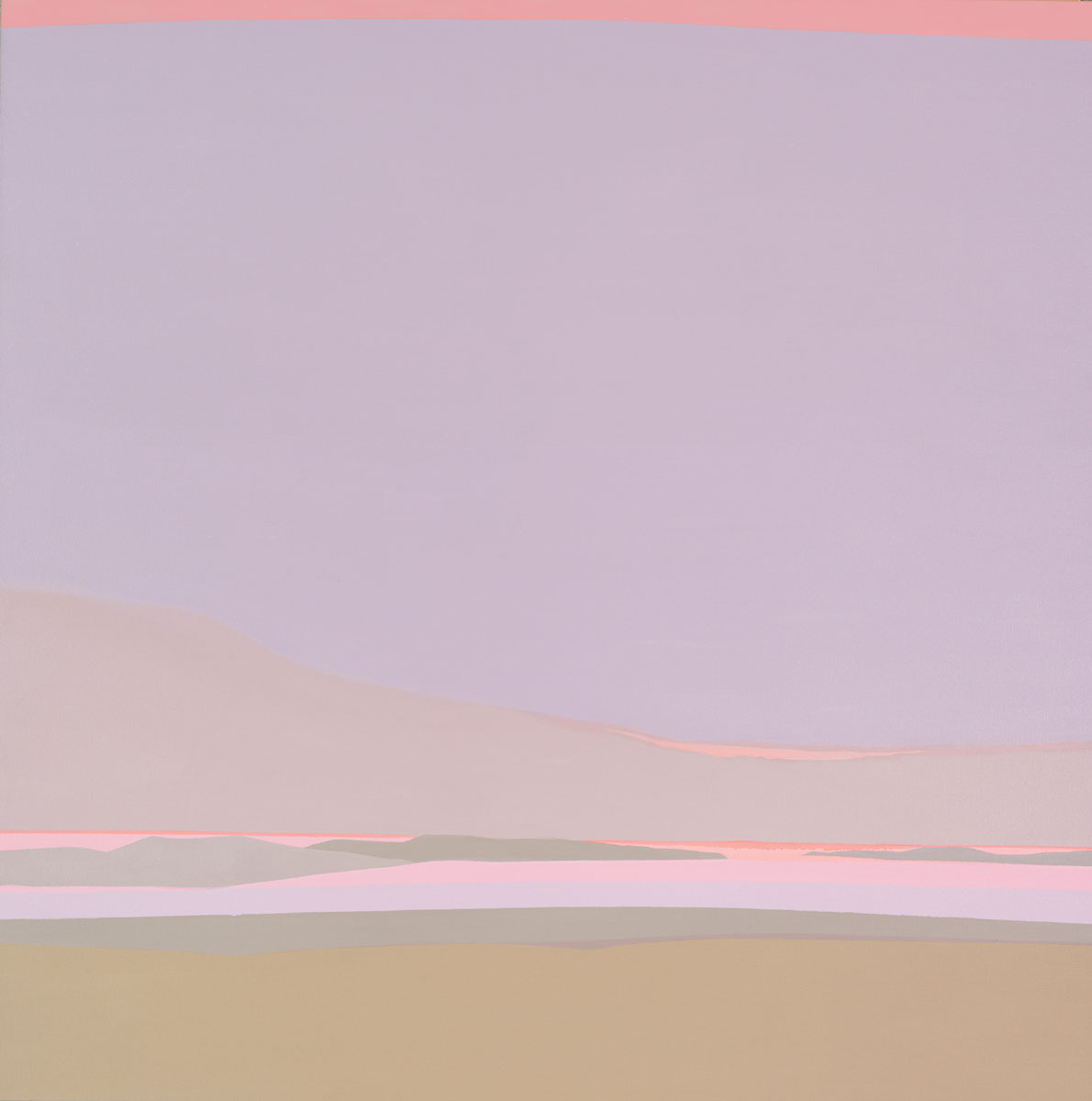 Islands , 1986  acrylic on canvas 50 x 50 inches;127 x 127 centimeters