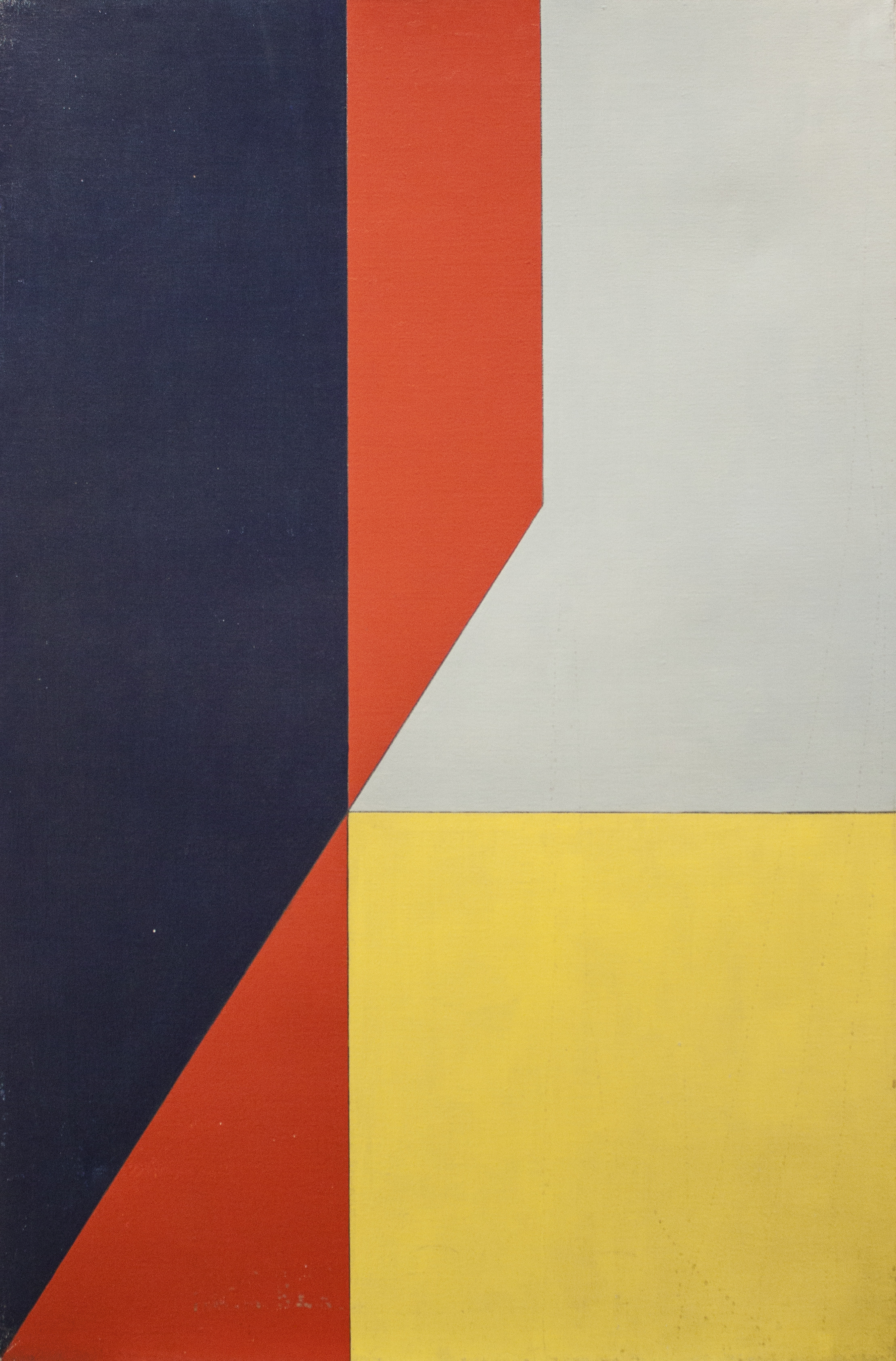 Untitled , 1981  oil on linen 42 x 28 inches; 106.7 x 71.1 centimeters