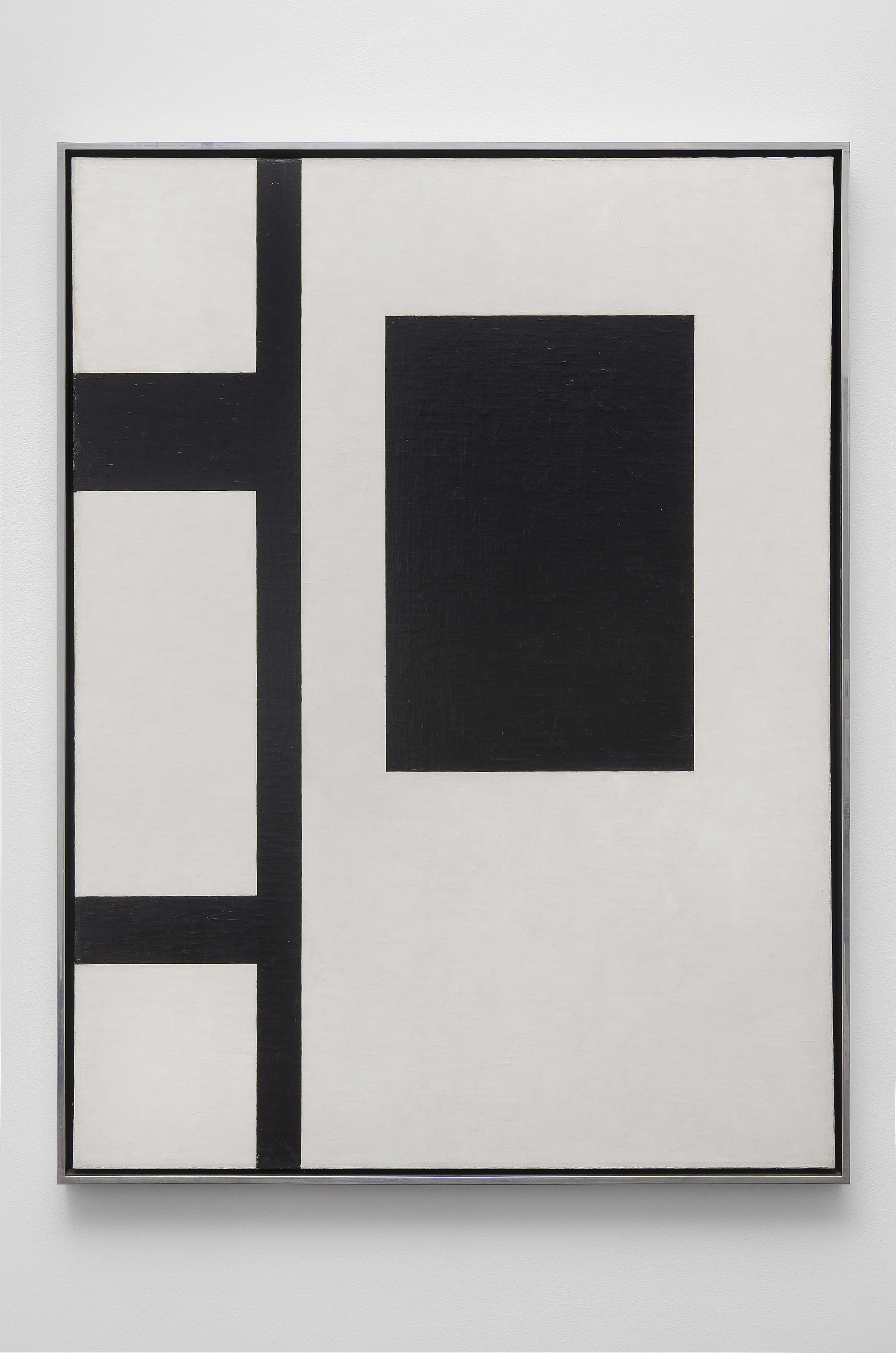 Untitled Composition , 1953 oil on canvas 48 x 36 inches; 121.9 x 91.4 centimeters
