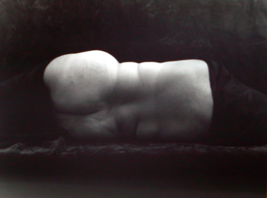 Untitled Composition (202-18A) , 2001  silver gelatin print 8 x 10 inches; 20.32 x 25.4 centimeters