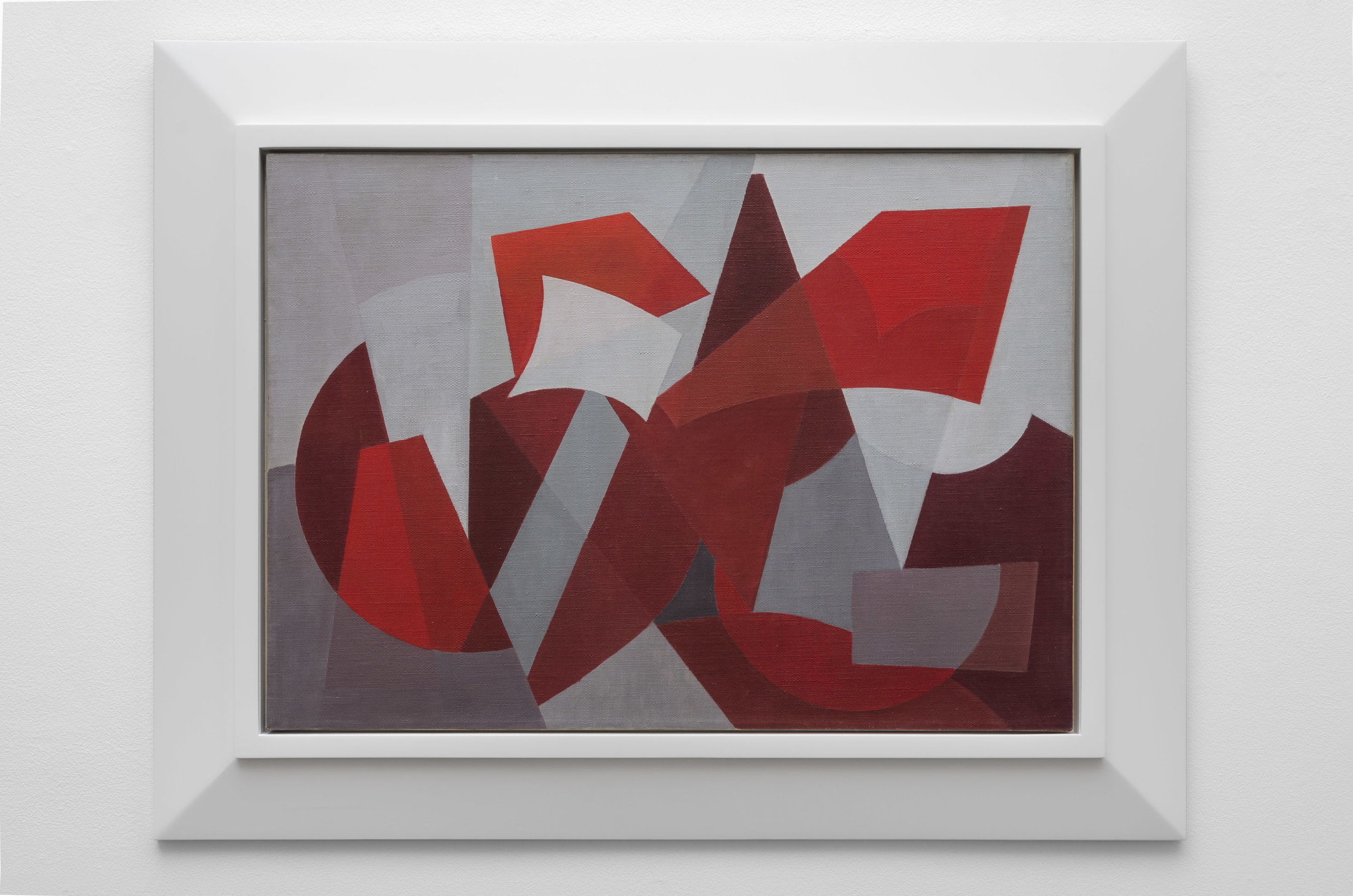 Composición , 1963  oil on canvas 19 3/4 x 27 1/2 inches; 50 x 70 centimeters