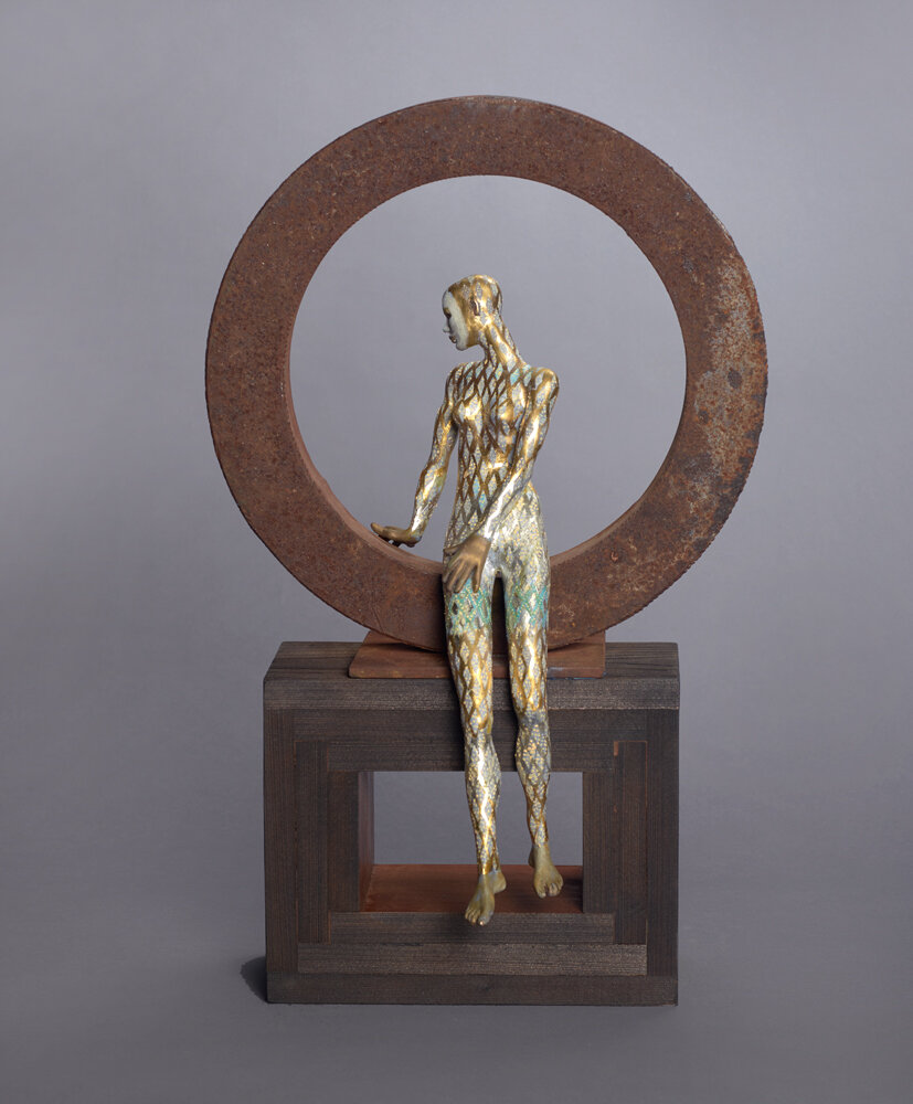 Butterfly , 2015  bronze, iron and mixed media 22 x 13 1/4 x 7 1/2 inches; 55.9 x 33.7 x 19.1 centimeters