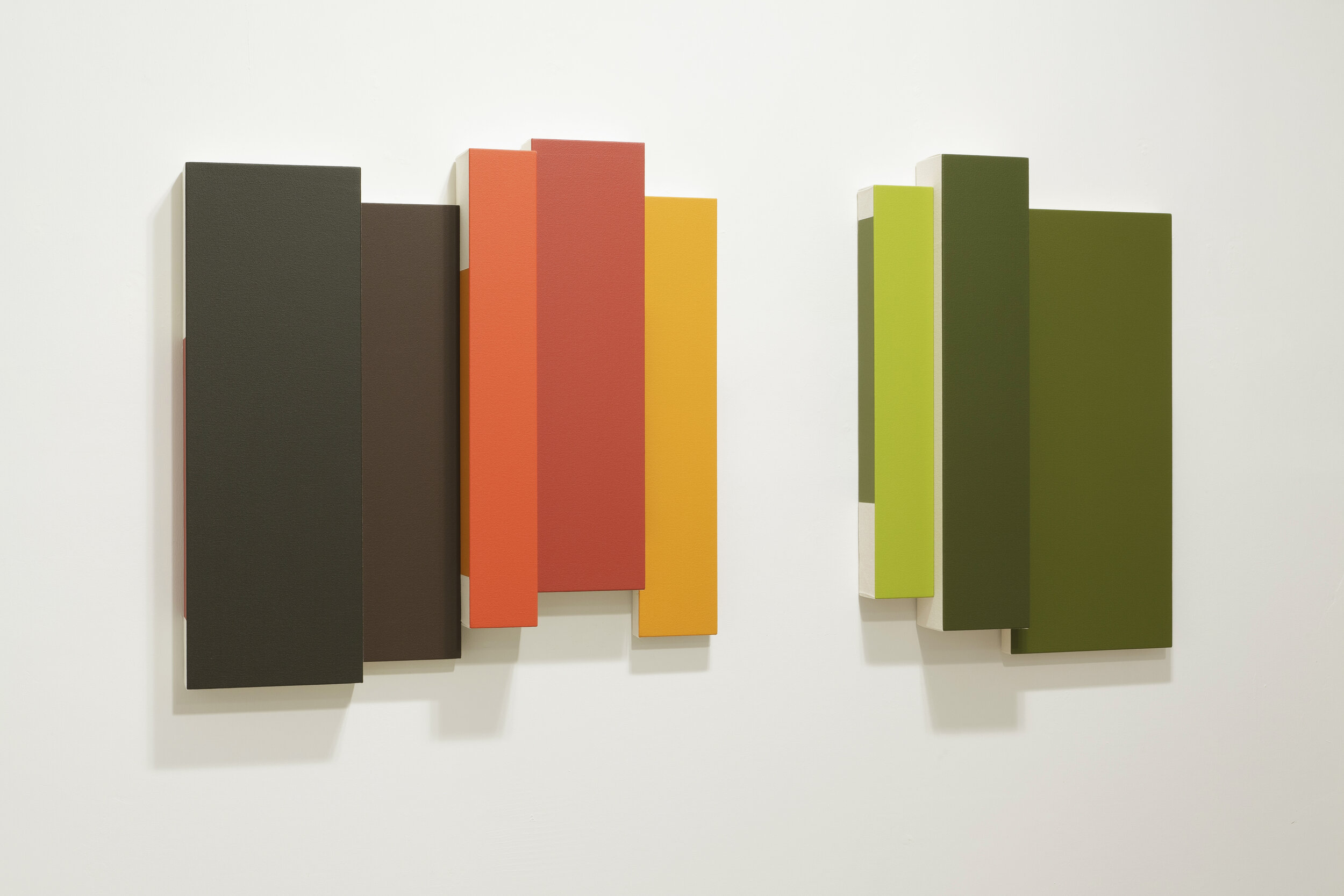 Amarillo (1186) , 2012  acrylic on canvas 24 x 48 inches; 61 x 121.9 centimeters