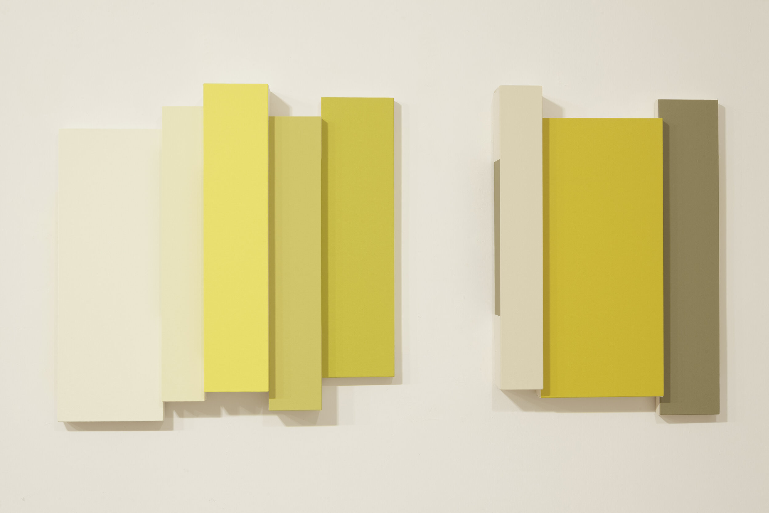 Winona (552) , 2012  acrylic on canvas 24 x 48 inches; 61 x 121.9 centimeters