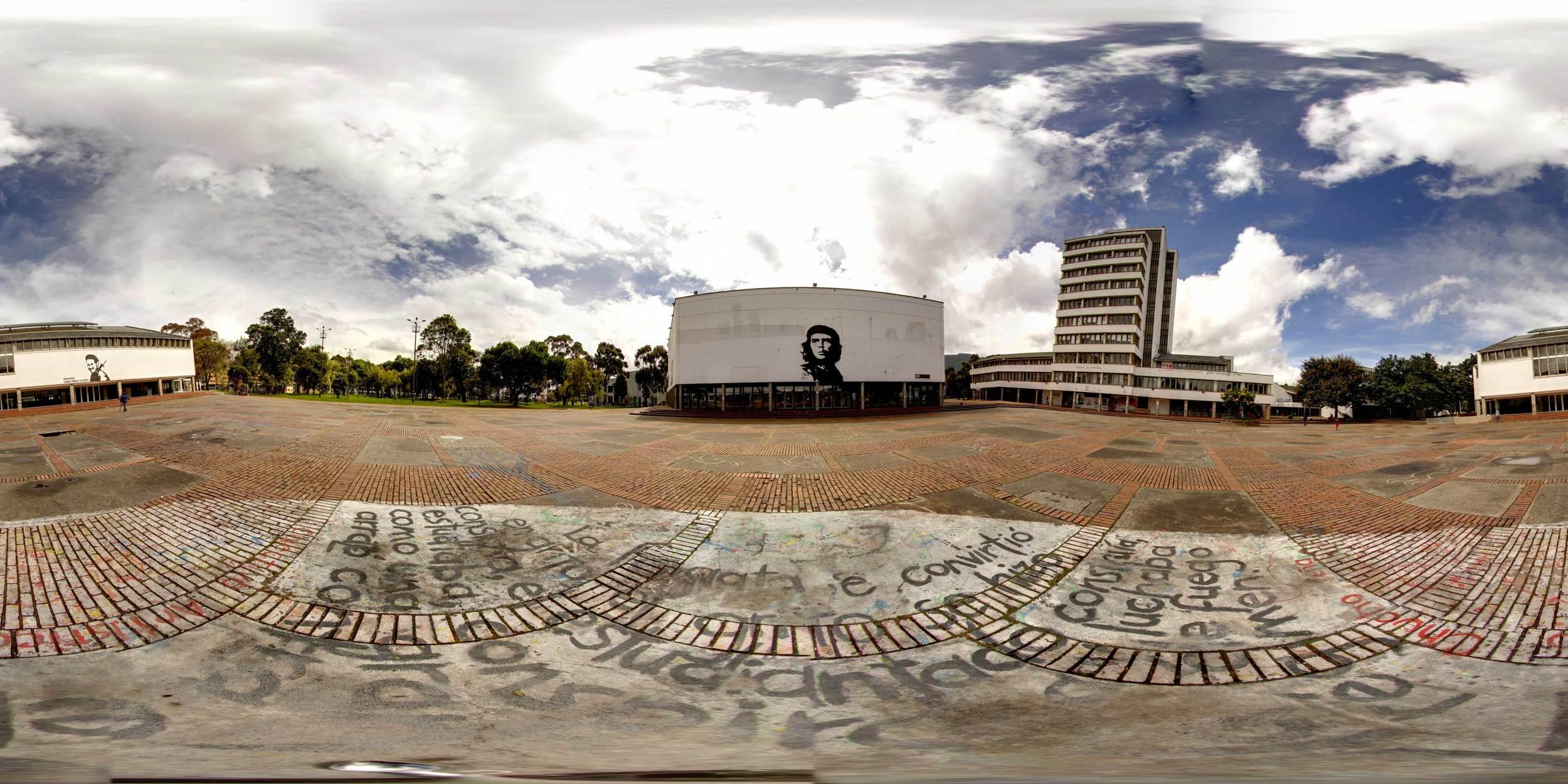 360° Plaza Che, National Universidad de Bogotá