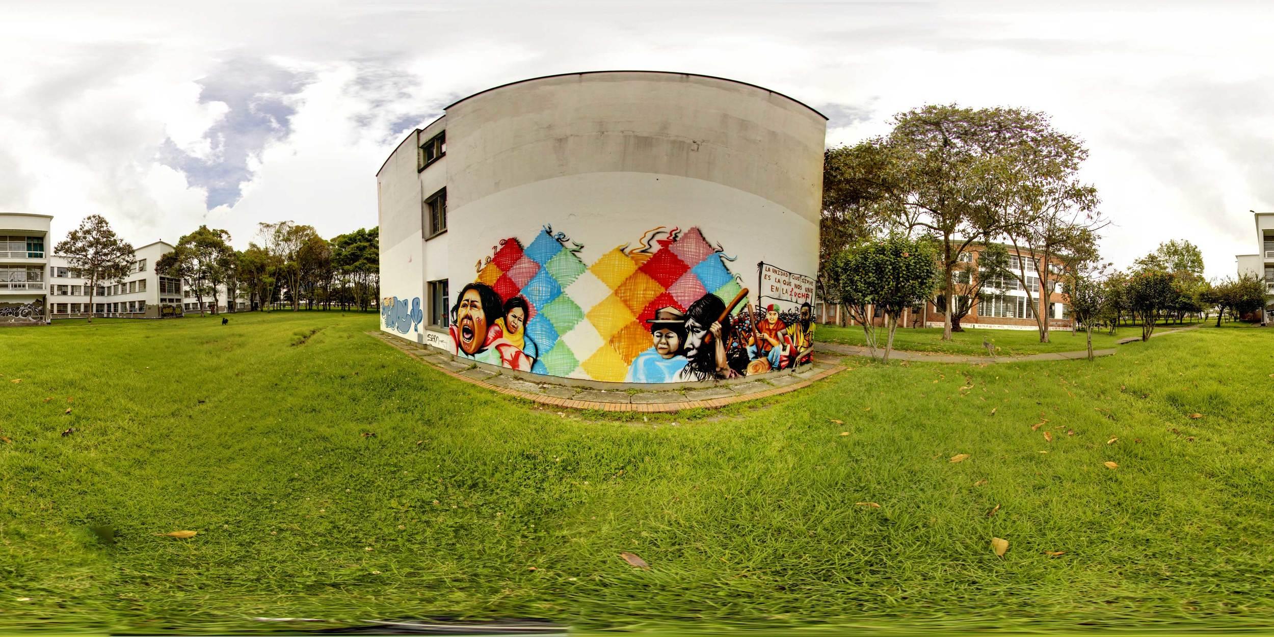 360° Rainbow at the National Universidad de Bogotá