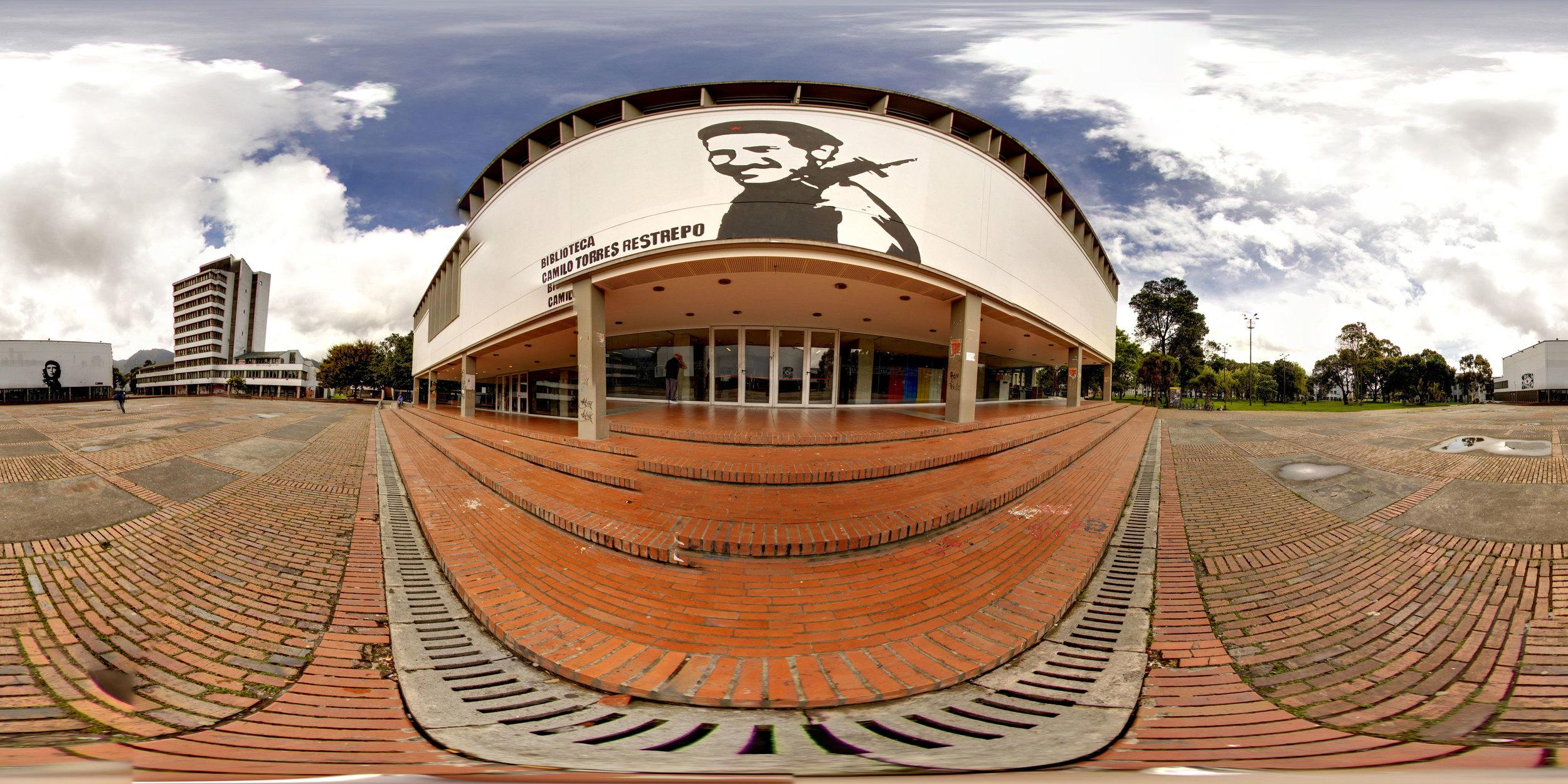 360° Camilo Torres at the National Universidad de Bogotá